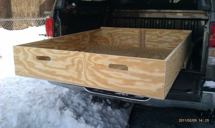 The 15 best images about truck bed slide drawer on pinterest storage systems trucks and drawers - Diy truck bed storage ...