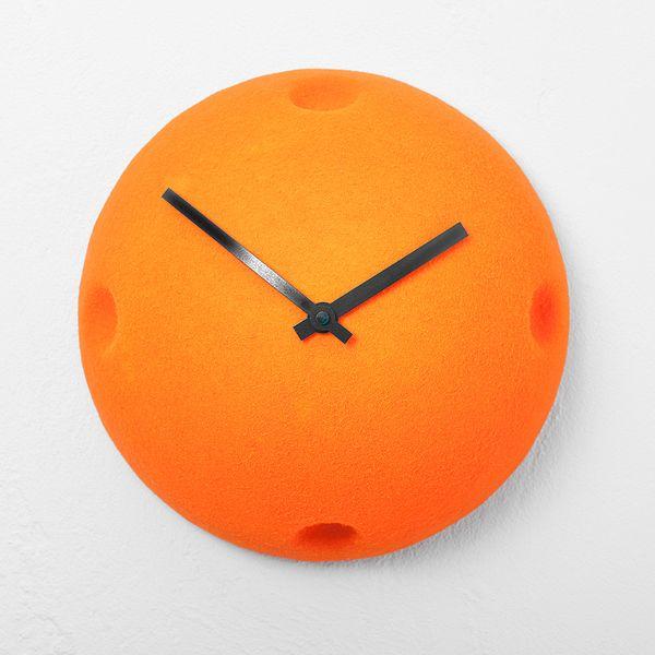 Die besten 25+ Orange wanduhren Ideen auf Pinterest 50er deko - sch ne wanduhren wohnzimmerideen fur gartengestaltung