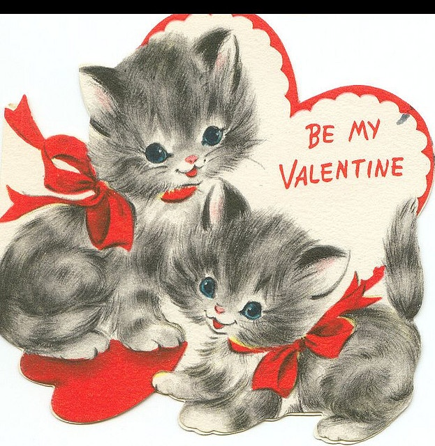 99 best Vintage Valentines images – Vintage Valentine Cards to Print