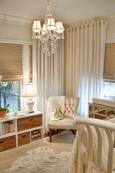 """This is a baby's room, but would be so cute for giving Cate's room a new """"do""""....."""