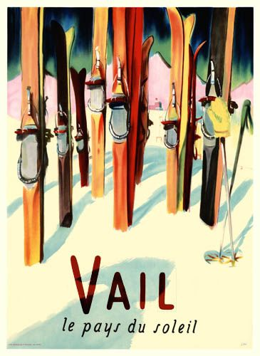 We love the vintage Vail posters!