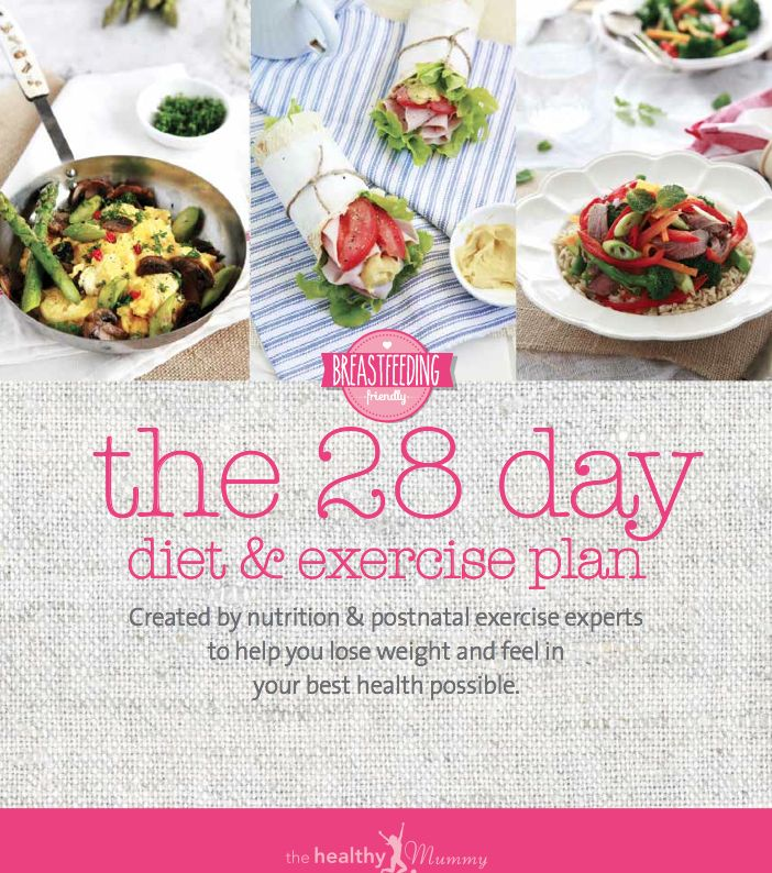 The NEW LOOK 28 Day Diet & Exercise Plan