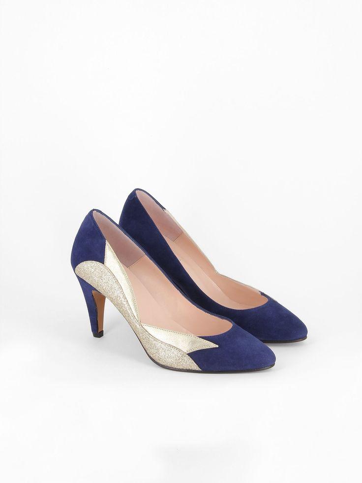 Chaussures Boho bleues Fashion femme rrtArMN1