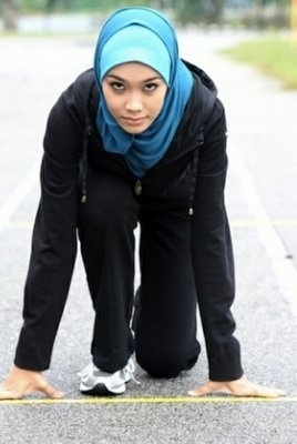 Sarah Attar. Inspiring Muslim girls everywhere.