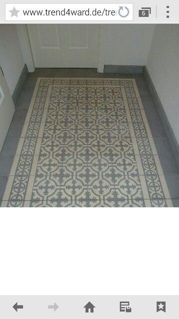 Tiles for lovely entrance
