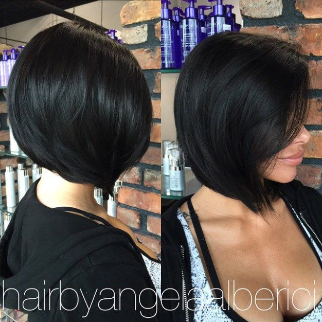 Layered Side-Parted Bob