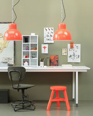 pop of color: orange (I would say coral, but who am I to argue with VTwonen?)