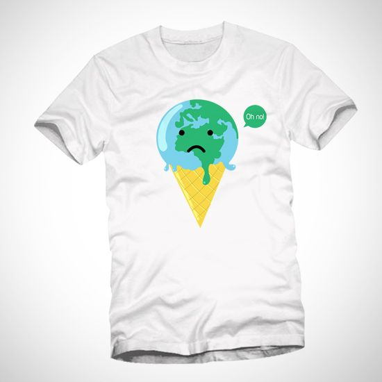 Melted Earth Cream dari Tees.co.id oleh Bocahupil