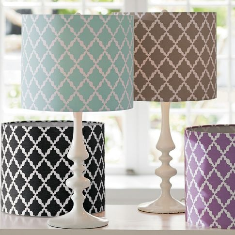 I love unique lampshades...and these are affordable!