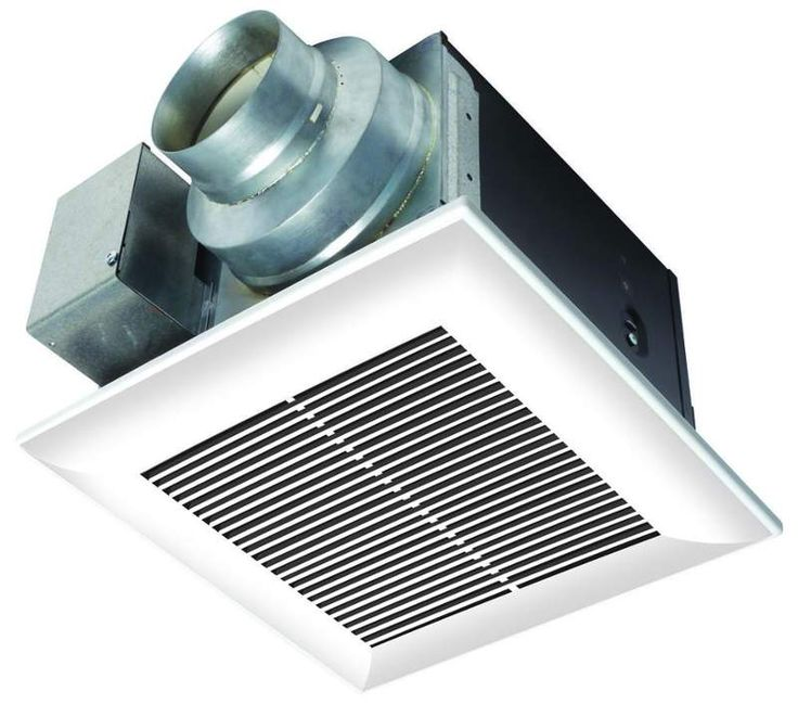 """View the Panasonic FV-11VQ5 WhisperCeiling 110 CFM 0.3 Sone Ceiling Mounted Energy Star Rated Bath Fan with 4"""" Duct Diameter at Build.com."""