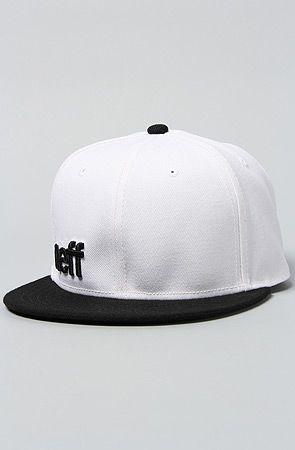 NEFF The Daily Cap in White Black