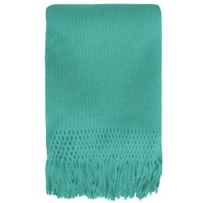 Mulberi Tropica Throw Aqua