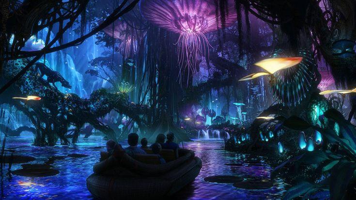 Pandora: El parque temático donde el mundo de 'Avatar' se hace realidad