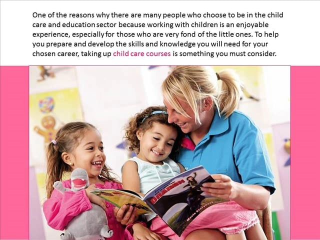 Things You Can Learn From Taking Up Child Care Courses in Perth on Vimeo