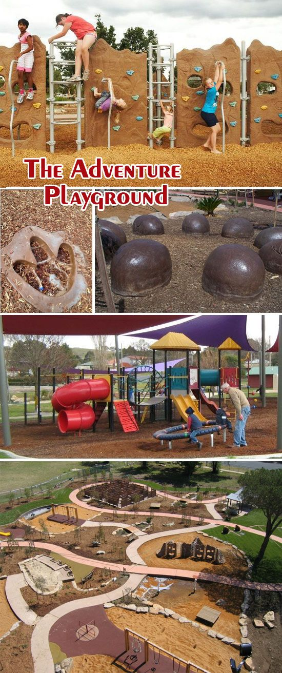 { #Travel } Looking for something new to do or #family #fun places to go in this summer holiday? Get your family outdoors and enjoy some fun at The Adventure Playground at Bathurst NSW! It is also known as the Dinosaur Park. Read more details at http://ow.ly/oSgj6