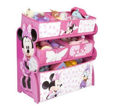 Opbergkast Minnie Mouse De bakken staan schuin zodat het kind gemakkelijk bij de inhoud kan. handig voor het opbergen van bv speelgoed, kleren af andere kleine artikelen. De Disney speelgoed opbergkast van de super coole Minnie Mouse met vrolijke kleuren past perfect in elke kamer. Dit multifunctionele meubelstuk leert het belang van opslag en organisatie op een jonge leeftijd en voegt een element van pret toe! Gemaakt van stevig MDF Het formaat van deze Opbergkast Minnie Mouse is 63.5 x 30…