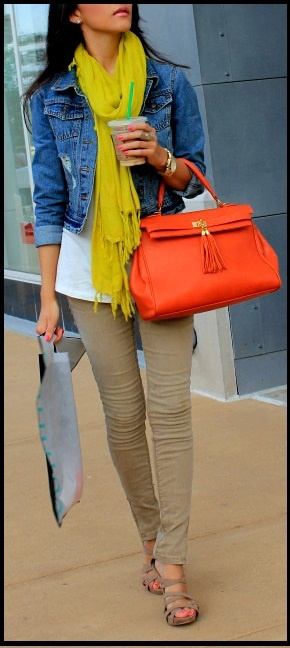 Cute and simple outfit. I would pair it with some flats! I need to find some corduroy leggings.