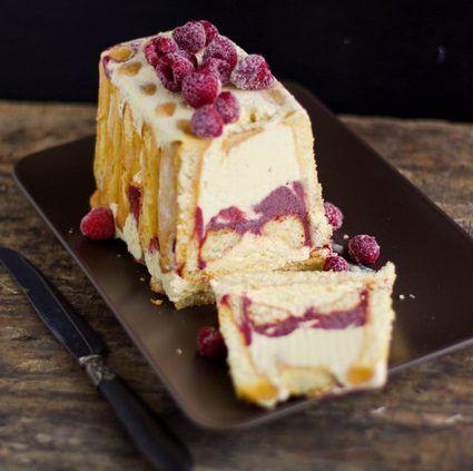 Une recette de charlotte glacée framboise/vanille trop facile à faire !