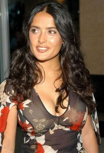 Hot salma hayek naked sorry
