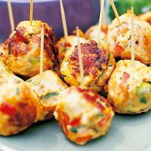 Thermo Thai chicken balls