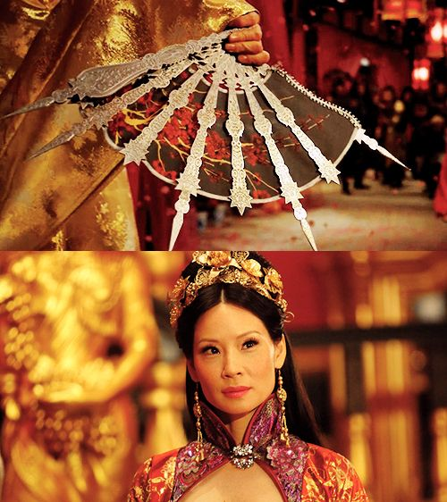 Lucy Liu, The Man with the iron fists