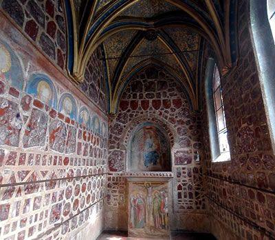 Kaple Svaté Kateřiny na Karlštejně
