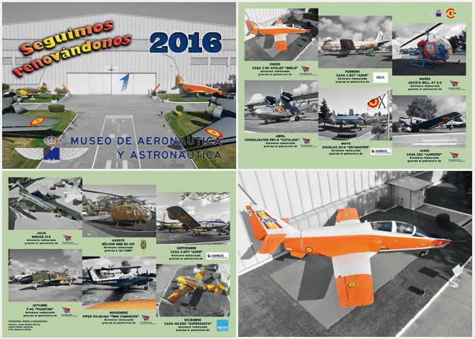 Calendario del Museo para el año 2016