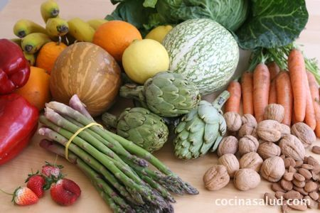 Tabla de Índice Glucémico: Por categorías; frutas,  verduras, pan, cereales, bebidas, etc. www.cocinasalud.com