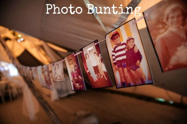 DIY Tutorial: Photo Bunting