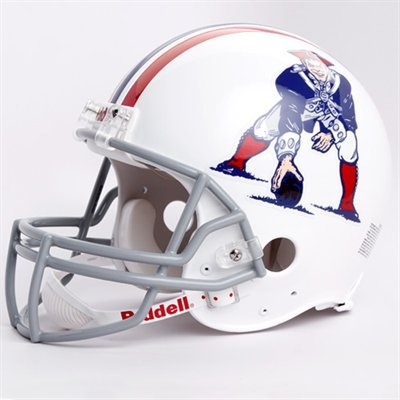 Riddell Boston Patriots 1965-1981 Throwback Full-Size Authentic Helmet