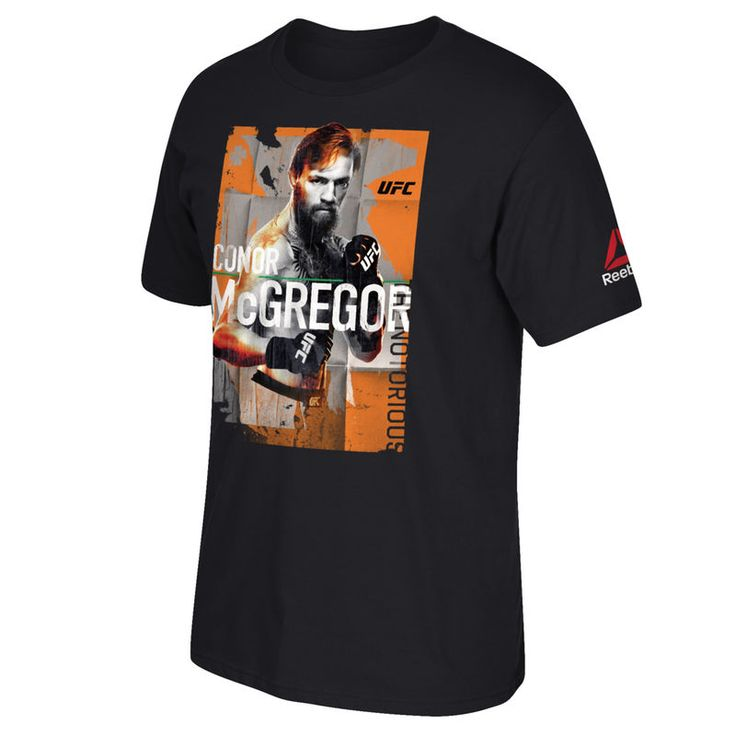 Conor McGregor Reebok Youth UFC 202 Tribute T-Shirt - Black
