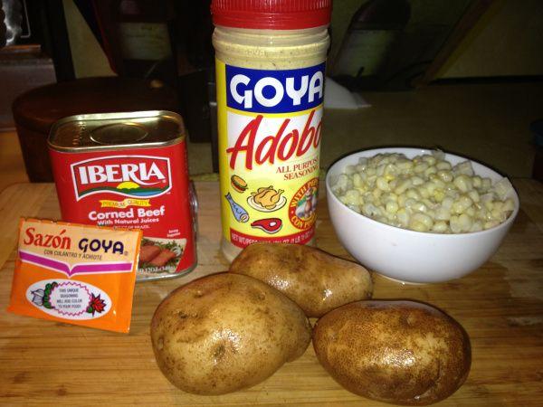 Guilt Free Carne Bif (Puerto Rican Stewed Corned Beef) | Delish D'Lites
