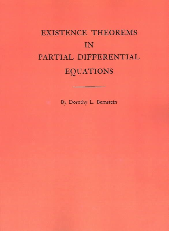 Existence Theorems in Partial Differential Equations