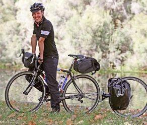 What a champ!    - 4000km bike ride to help Lifeline