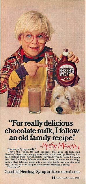 """Messy Marvin """"  (( 1981 )) by tOkKa, via Flickr.. haha Peter Billingsley ..played ralphy in the movie A Christmas Story"""