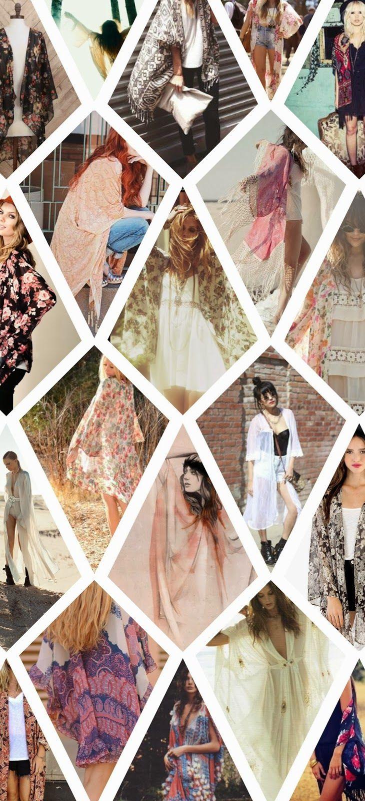 Rose Tinted : Summer Kimono Inspiration Board