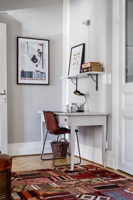 Ideas de decoración para un salon comedor rectangular   Recibidor