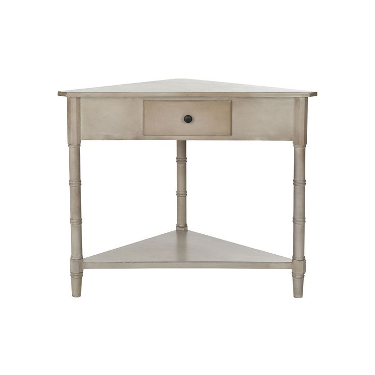 Safavieh Gomez Corner Accent Table, Grey
