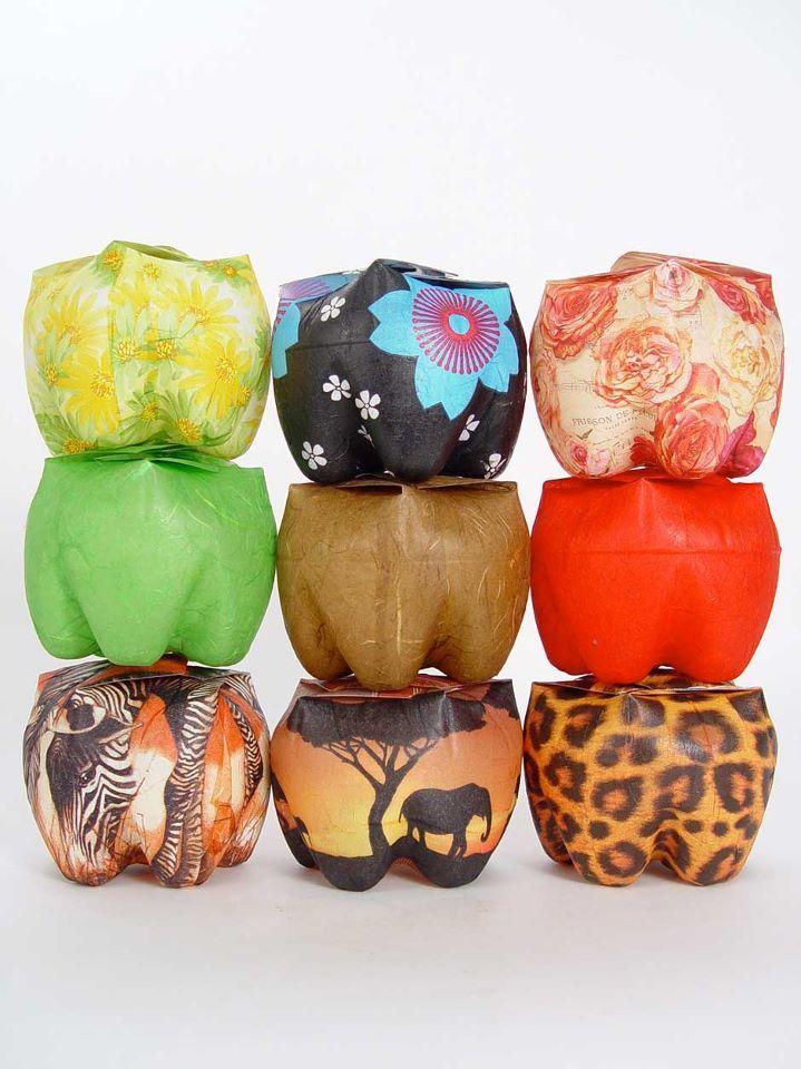 GARRAFA PET: Ideas, Craft, Plastic Bottles, Soda Bottles, Bottle Boxes, Upcycled Bottle, Africa