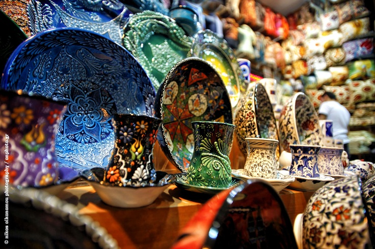 Handcraft products in the traditional markets, Istanbul