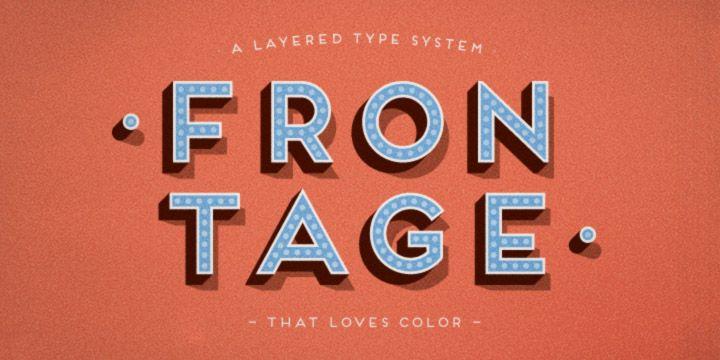 Frontage - Webfont & Desktop font « MyFonts
