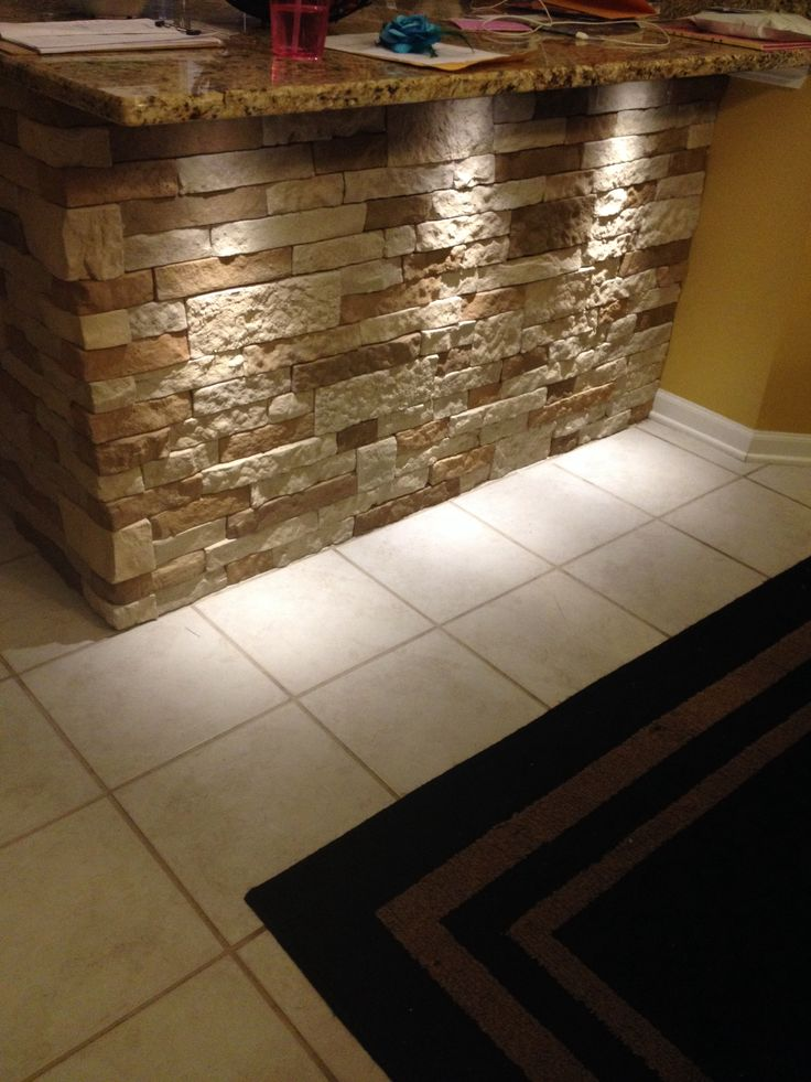 We Love Our Air Stone Work And The Lights Decor