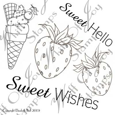 Sweet AccessoriesElisabeth Belle, Belle Stamps, Sweets Accessories