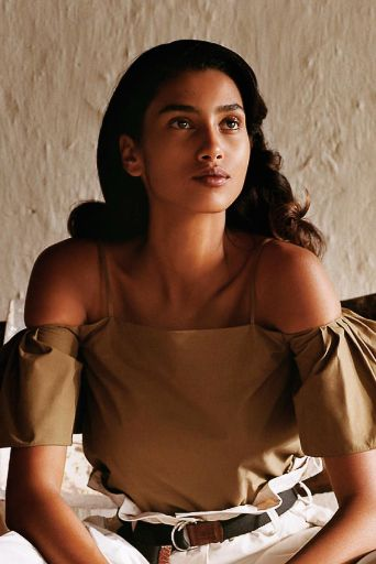 Imaan Hammam photographed by Alasdair McLellan for Vogue US December 2016