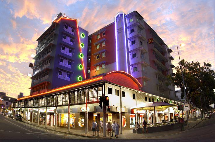 Darwin Central Hotel Sunset, NT Australia