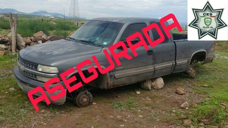 Agentes de la policía vial recuperan dos vehículos con reporte de robo | El Puntero