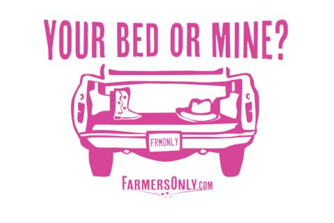 """Your Bed or Mine? 12"""" X 18"""" Poster"""