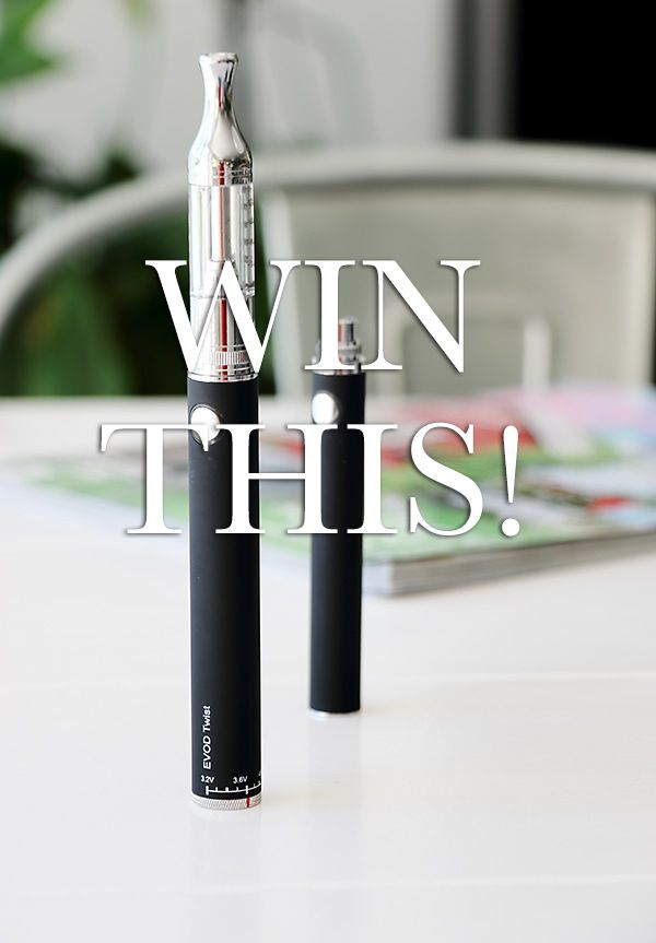 WIN, WIN, WIN!!! Now it´s time for a competition at I Like E-cigarettes! Win a Evod Twist 1300 mah battery and a DHC clearomizer and 4 e-liquids of you choice from I Like E-cigarettes!  It´s easy and fun, read more at http://www.ilikeecigarettes.com/blogs/e-cigarettes Good luck everyone!