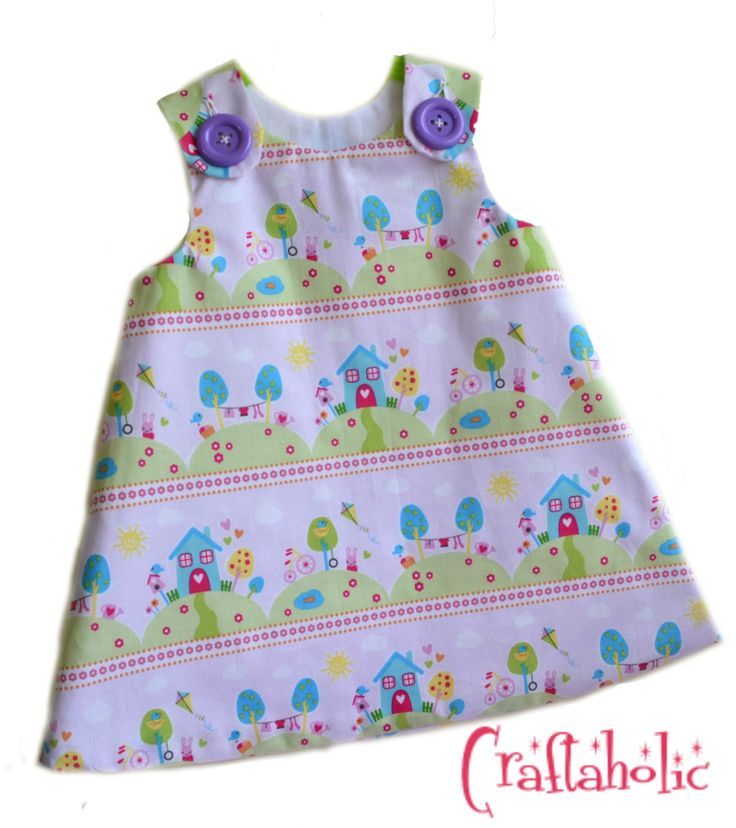 Little houses dress by Craftaholic