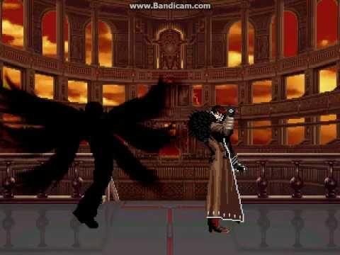 KOF WOJ Darkness ~ Team Darkness vs Team Clone